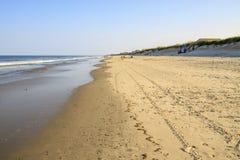 Stranden på det yttre packar ihop royaltyfri bild