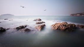 Stranden Fotografering för Bildbyråer