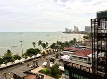 Stranden på Pattaya, Thailand Royaltyfria Bilder