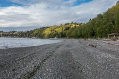 Stranden på Seahurst parkerar arkivbilder