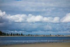 Stranden in Perth royalty-vrije stock afbeeldingen