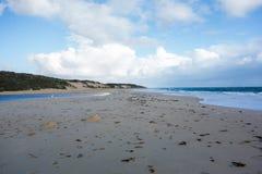 Stranden in Perth stock afbeelding