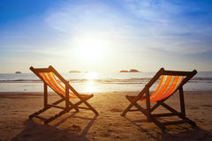 Stranden reser royaltyfri fotografi