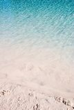 stranden ripples sandigt vatten Fotografering för Bildbyråer