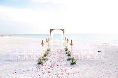 Bröllopceremoni Royaltyfria Bilder