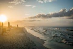 Stranden väcker arkivbild