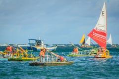Stranden van Brazilië - Porto DE Galinhas royalty-vrije stock foto