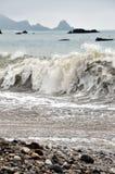 Stranden van Grote Sur Stock Foto