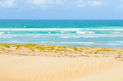 Stranden van Kaapverdië, Afrika Royalty-vrije Stock Fotografie