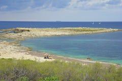 Stranden van Malta stock fotografie