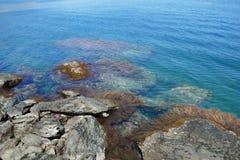 Stranden van Taganga stock fotografie