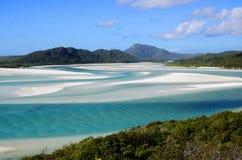 stranden whitehaven Arkivfoton
