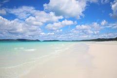 stranden whitehaven Royaltyfri Foto
