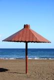 strandett slags solskydd Royaltyfria Foton