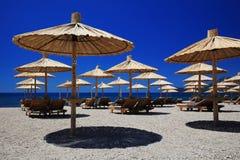 Strandett slags solskydd Royaltyfri Foto