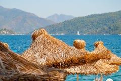 strandett slags solskydd Royaltyfri Fotografi