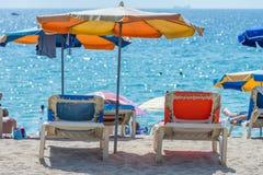 strandett slags solskydd Royaltyfria Bilder