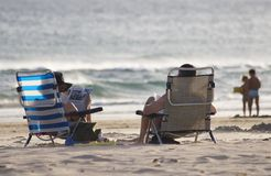strandevenig Royaltyfria Foton