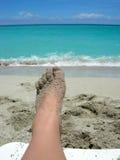 Strandfüße Lizenzfreie Stockfotografie