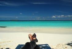 Strandfeiertag Stockfotos