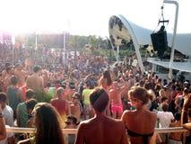 Strandfest Stockbild