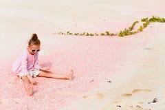 strandflicka little Fotografering för Bildbyråer