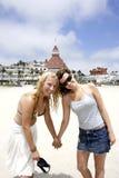 strandflickor Fotografering för Bildbyråer