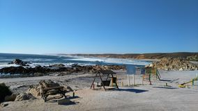 Strandfontein. Beautiful view from play area Stock Photography