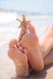 strandfot Fotografering för Bildbyråer