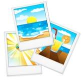 Strandfotos lizenzfreie abbildung
