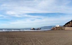 strandfrancisco hav san Royaltyfri Foto