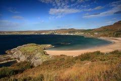 strandgairloch västra norr scotland Arkivbild