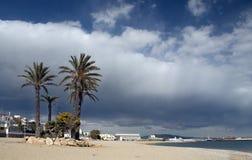 strandgarrucha town Fotografering för Bildbyråer