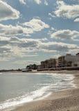 strandgarrucha town Arkivfoton