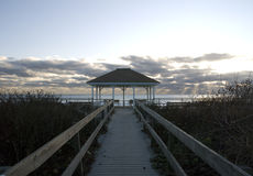 strandgazebo Arkivfoto