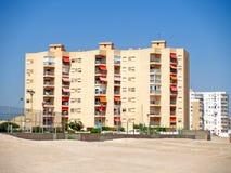 Strandgebäude Lizenzfreie Stockfotografie