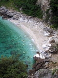 strandgreece pelion arkivfoto