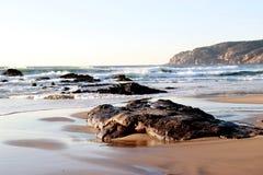 Strandhandkurbel Stockbild