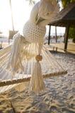 Strandhangmat Stock Foto