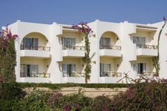 Strandhaus in Ägypten. Stockfoto