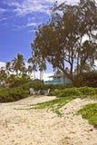 Strandhaus stockfotografie