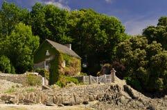 Strandhaus lizenzfreies stockfoto