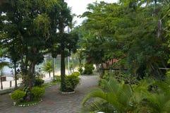Strandhaus in Brasilien lizenzfreies stockfoto