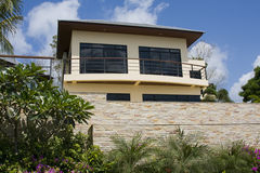 Strandhaus in Thailand Lizenzfreies Stockbild