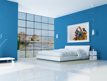 Strandhausinnenraum lizenzfreie abbildung