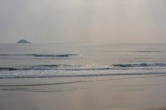 Strandhav i morgon Royaltyfria Bilder