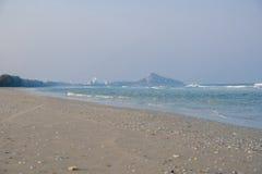 Strandhav och himmel Royaltyfri Fotografi
