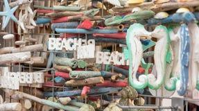 Strandherinneringen Stock Fotografie