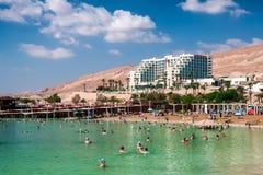 Strandhotell Leonardo Dead Sea Royaltyfri Foto