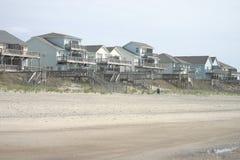strandhus Arkivbild